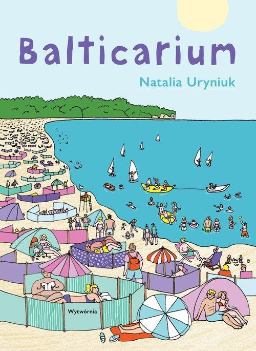 "Okładka książki ""Balticarium"""