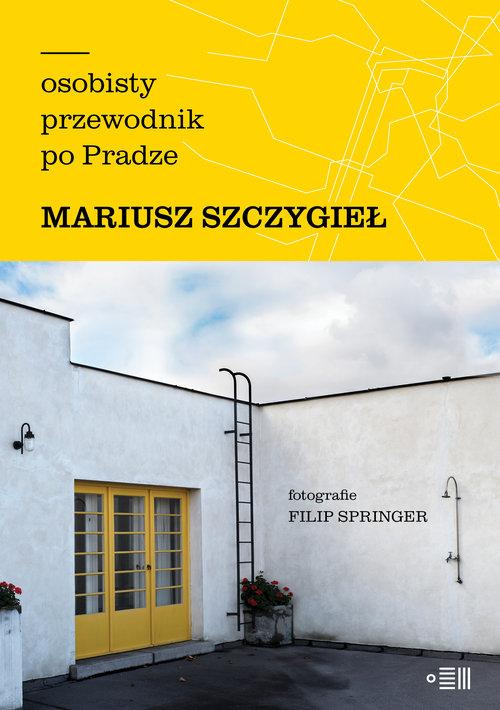 """Okładka książki """"Osobisty przewodnik po Pradze"""""""