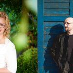 Sylwia Trojanowska i Marek Stelar
