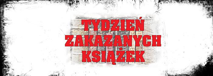 napis Tydzień Zakazanych Książek