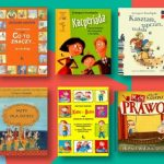 kolaż okładek książek dla dzieci