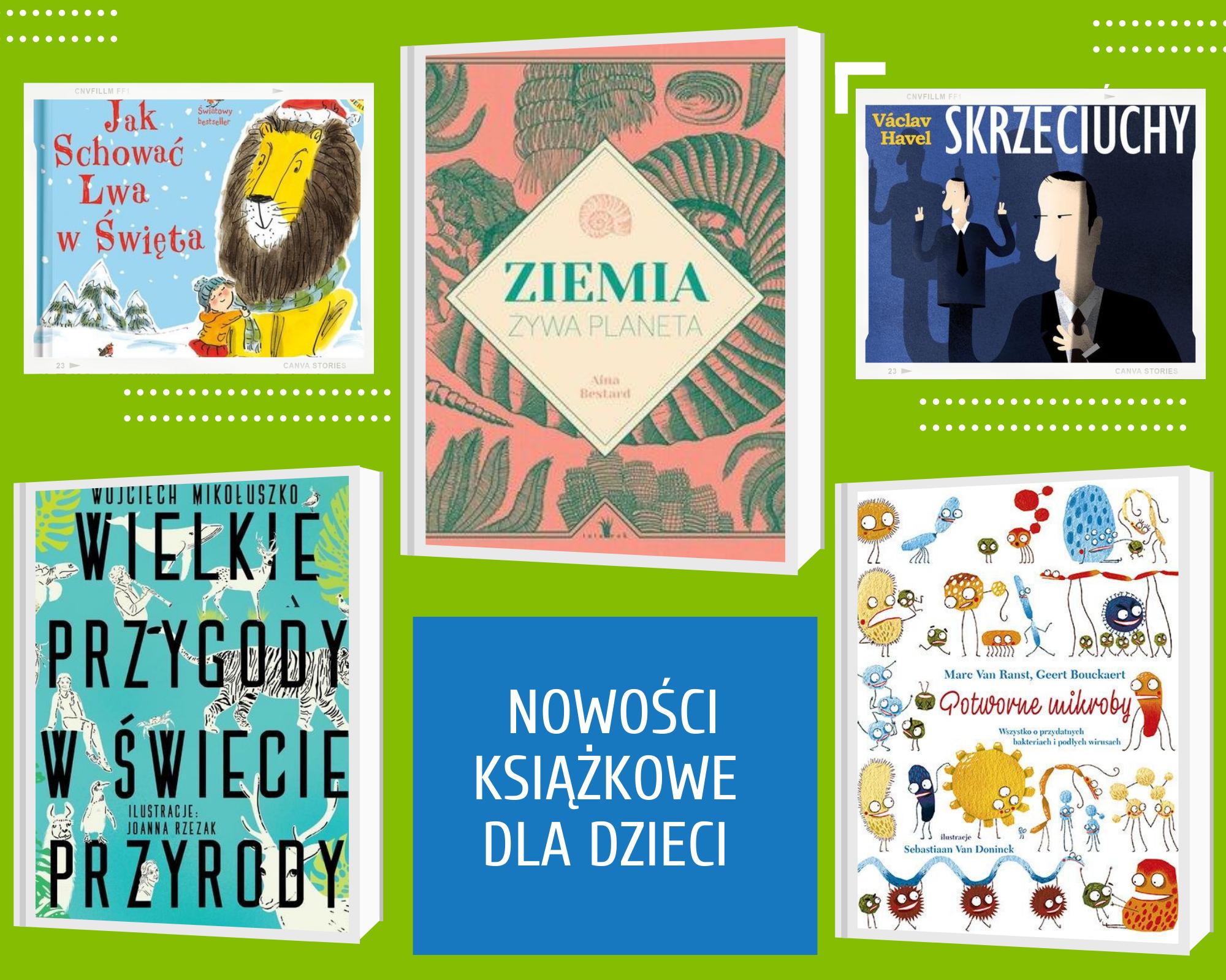 Nowości książkowe dla dzieci [04.12.2020]
