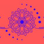 kwiatowy motyw ludowy
