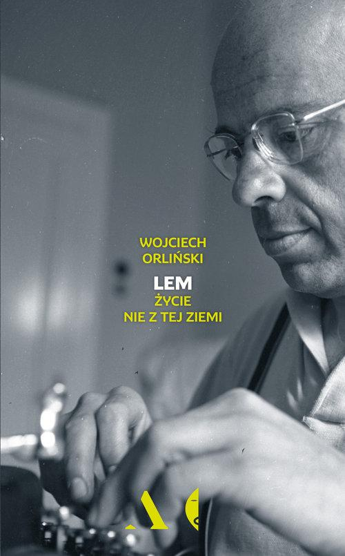 okładka biografii Lema