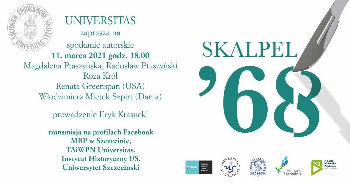 Skalpel '68. Kampania antysemicka w środowisku szczecińskich lekarzy