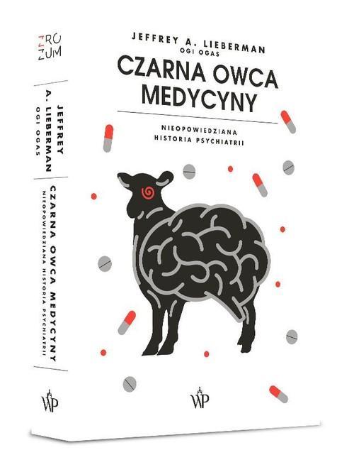 """okładka książki """"Czarna owca medycyny"""""""