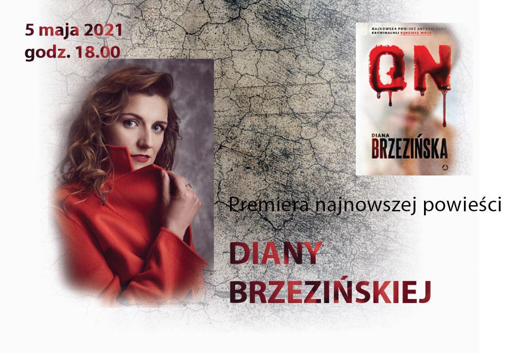 Spotkanie z Dianą Brzezińską [Szczecin Literacki]