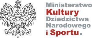 logo Ministerstwa Kultury Dziedzictwa Narodowego i Sportu