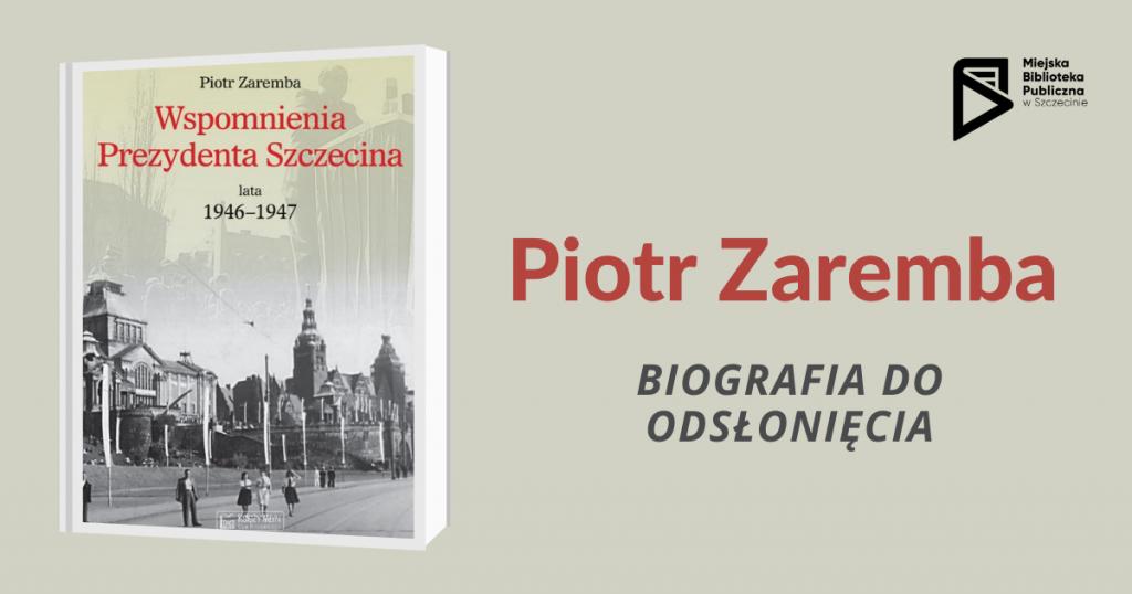 slider z okładką biografii Piotra Zaremby