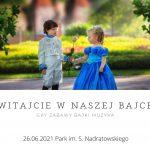 chłopiec i dziewczynka przebrani za książęta