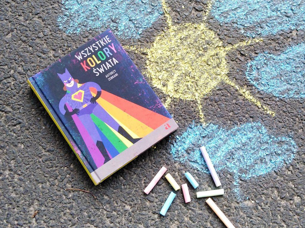 """Książka """"Wszystkie kolory świata"""""""