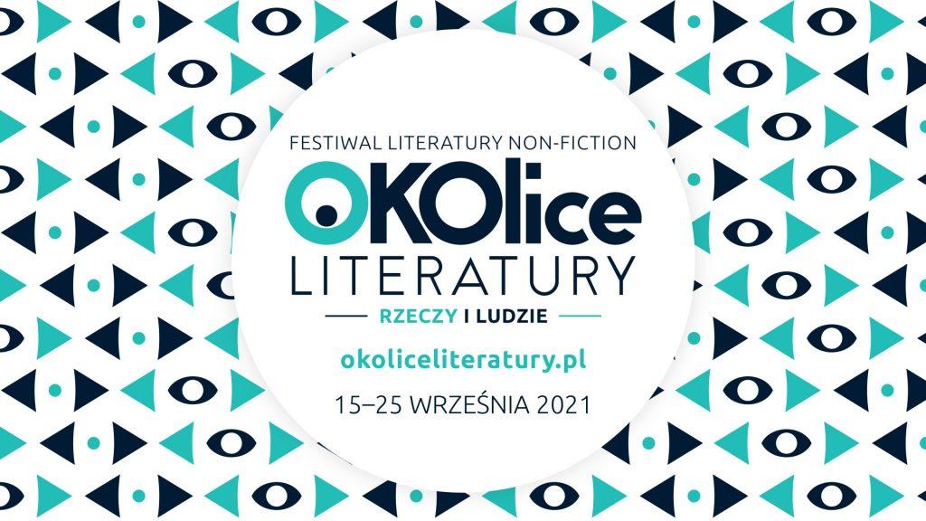 logo festiwalu OKOlice literatury