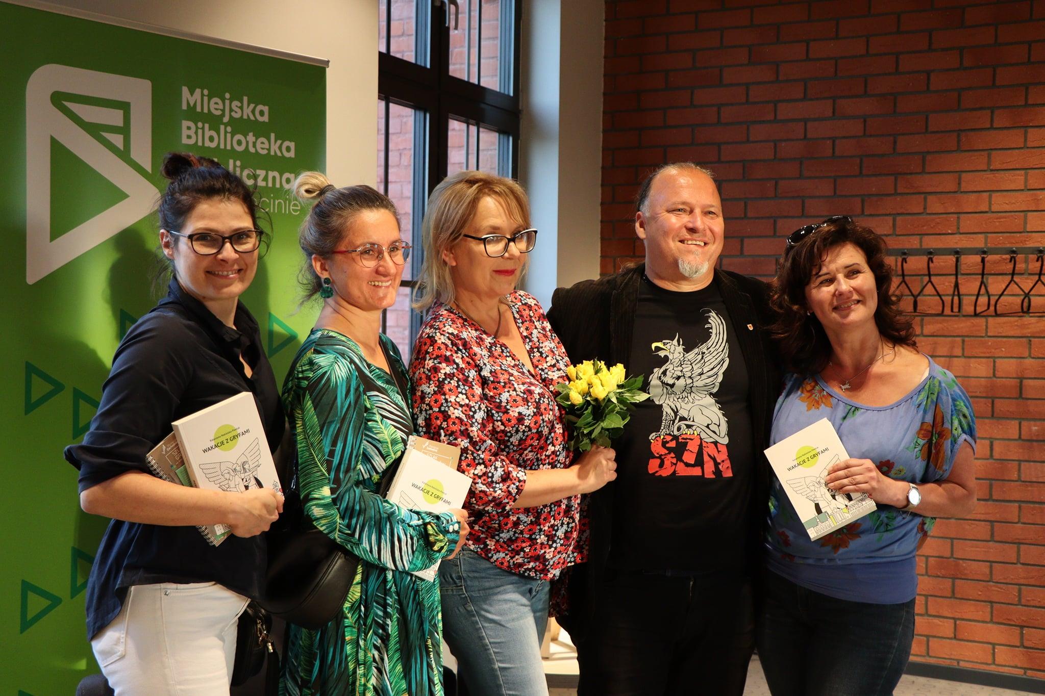 Spotkanie z Katarzyną Nakielską-Pawluk [fotorelacja]