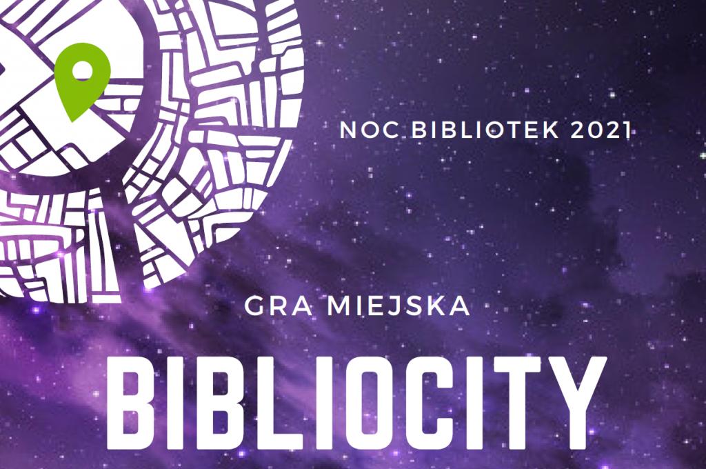 noc bibliotek 2021, gra miejska, bibliocity