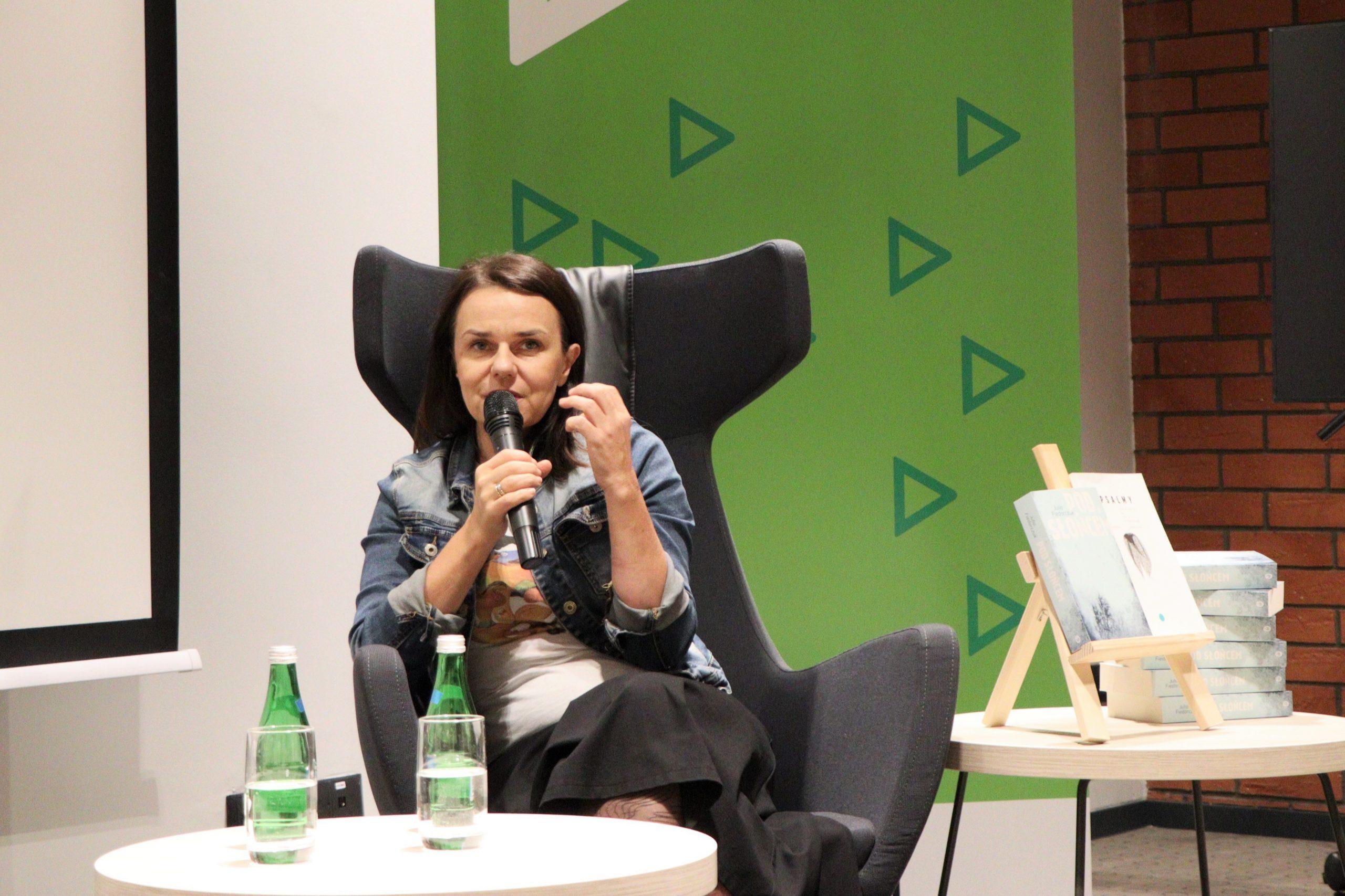 Spotkanie z Julią Fiedorczuk. [fotorelacja]